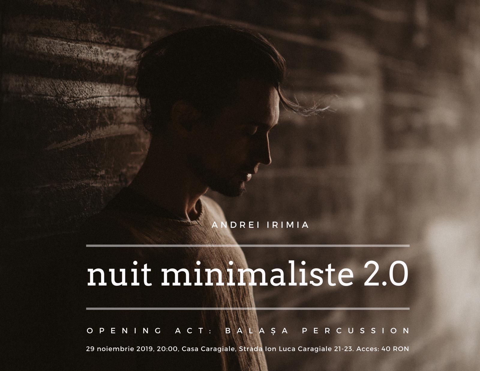 Nuit Minimaliste 2.0