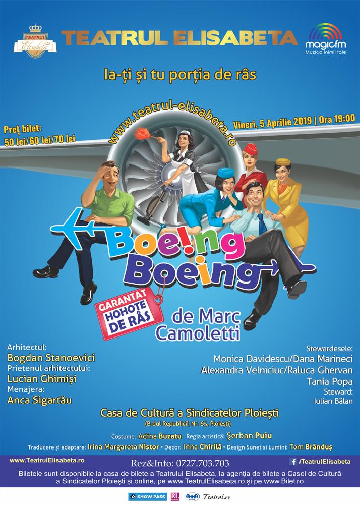 Boeing Boeing - Teatrul Elisabeta - Casa de cultura a Sindicatelor PLOIESTI