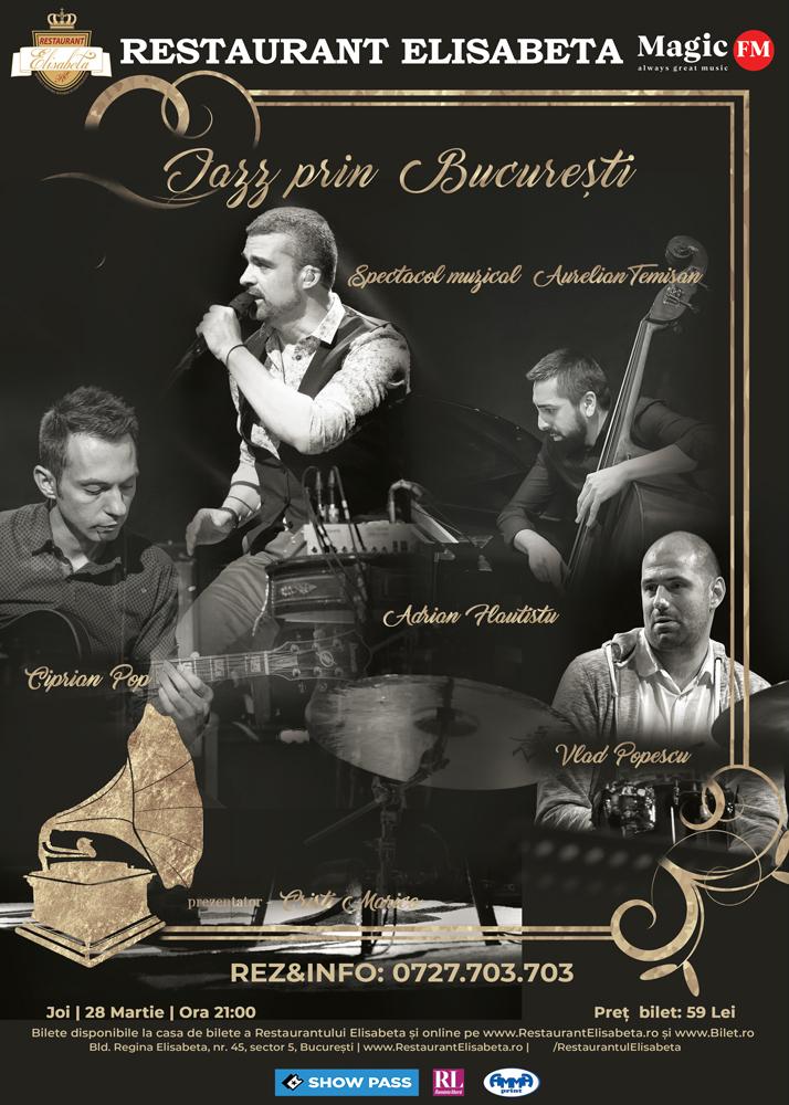 Jazz prin Bucuresti - Concert Aurelian Temisan