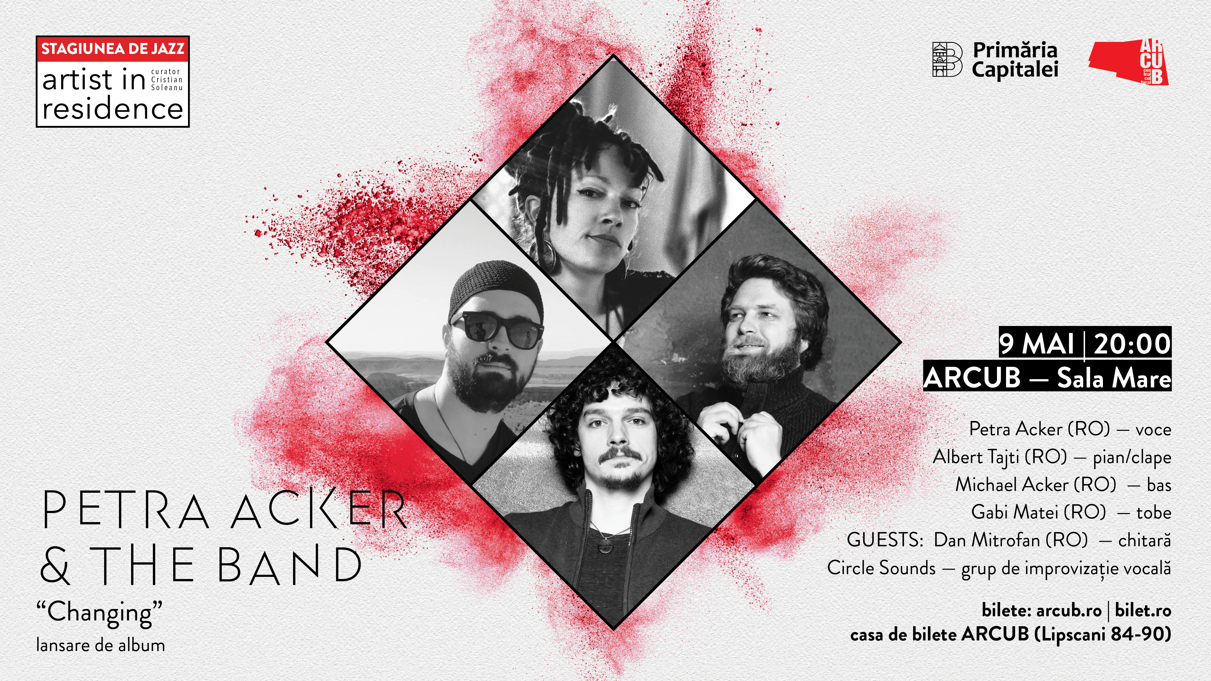 Artist in Residence   PETRA ACKER & THE BAND   Changing – lansare de album