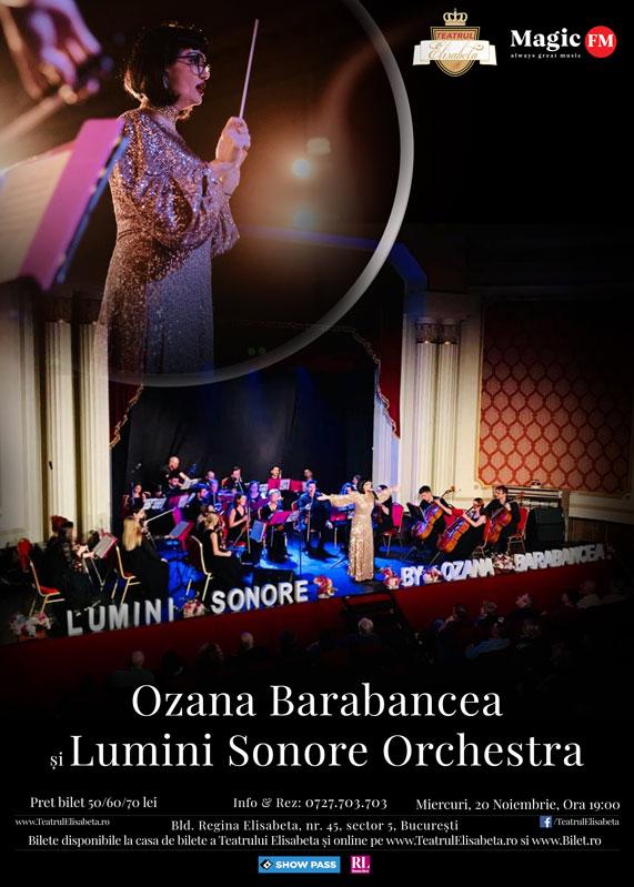 Ozana Barabancea si Orchestra Lumini Sonore