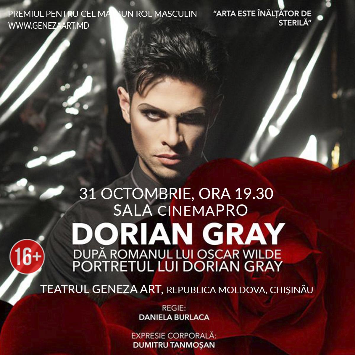 DORIAN GRAY   Festival Geneza ART