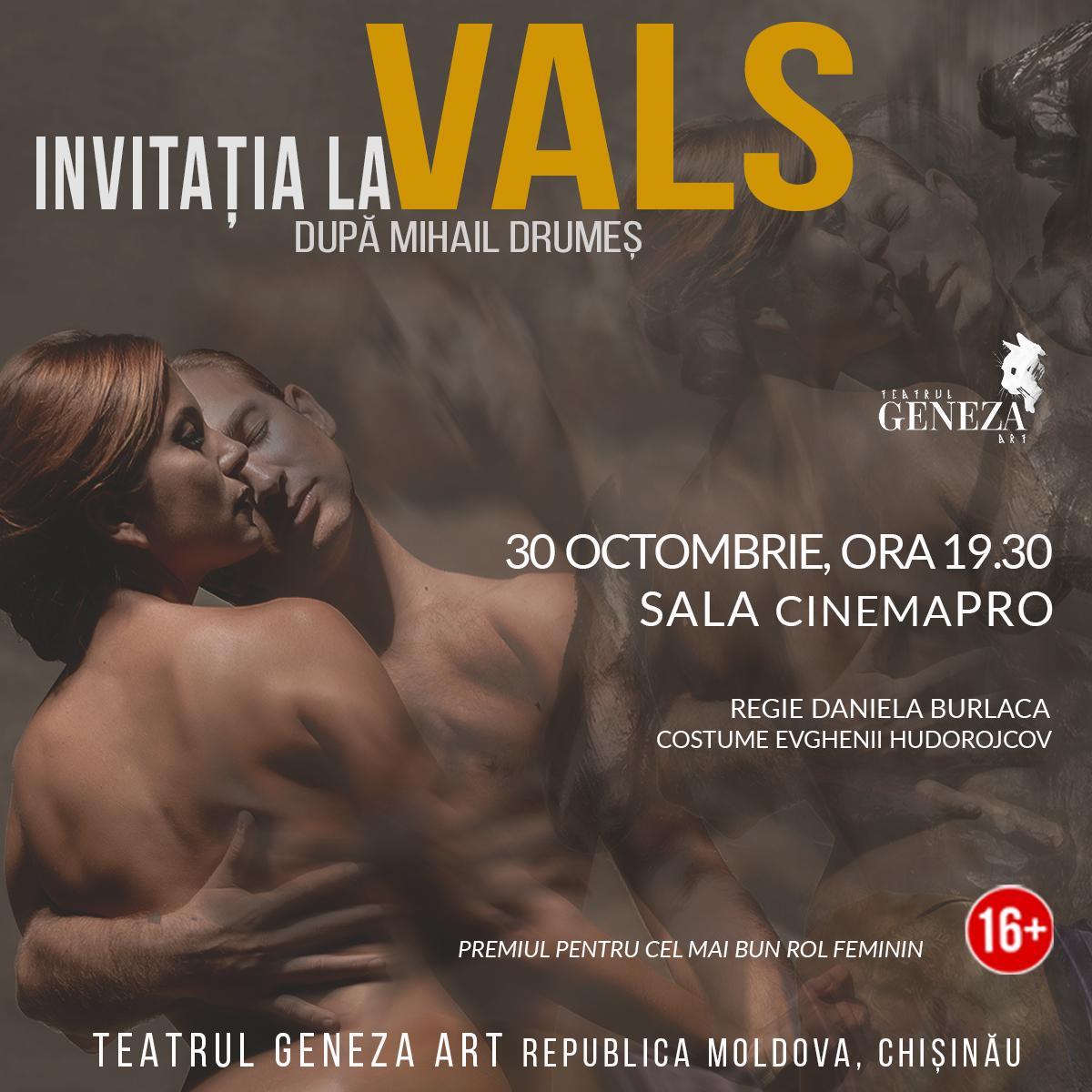 INVITATIA LA VALS   Festival Geneza ART