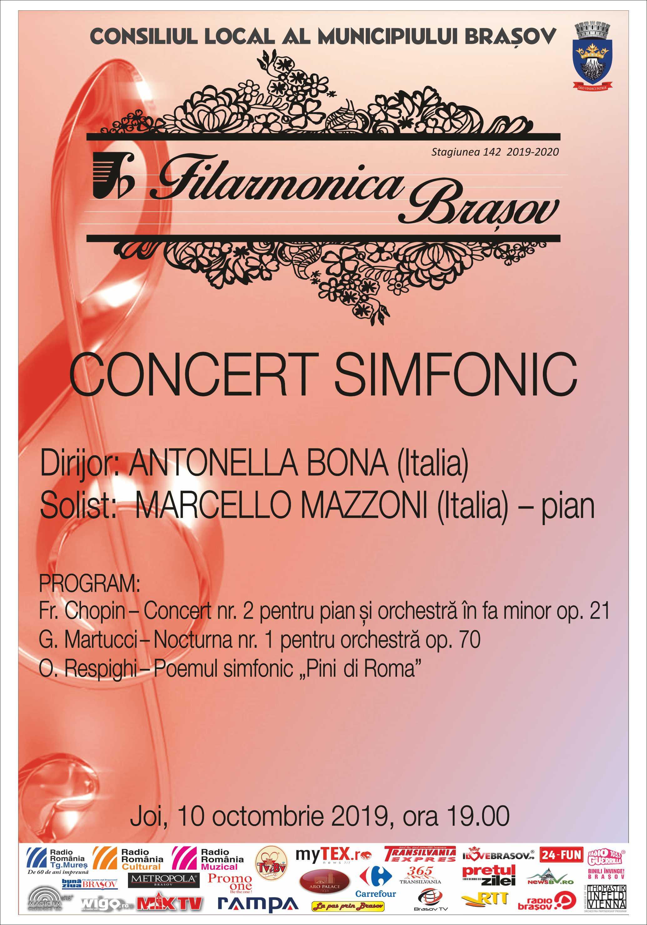 CONCERT SIMFONIC | Filarmonica Brasov